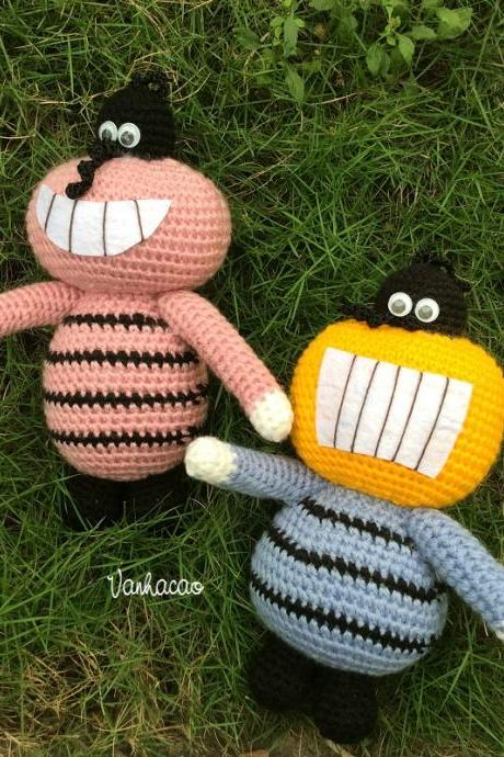 Cockroaches - Finished Handmade Crocheted Amigurumi Birthday Children Christmas Baby Shower Soft Toy Gift