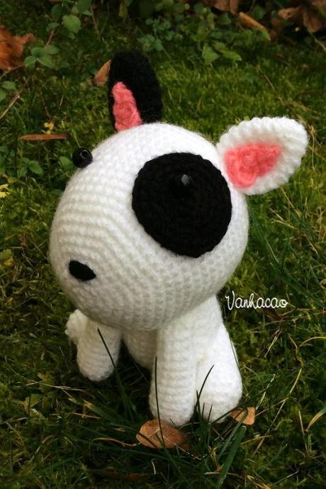 Puppy - Handmade Handcrafted Crocheted Amigurumi Christmas Children Birthday Baby Shower Gift